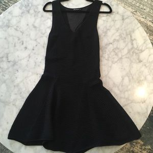 Dresses & Skirts - Black Skater Dress.